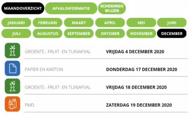 Digitale afvalkalender