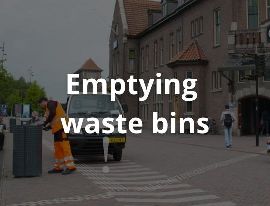 Emptying waste bins
