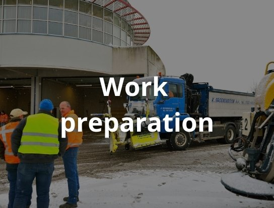 Work preparation
