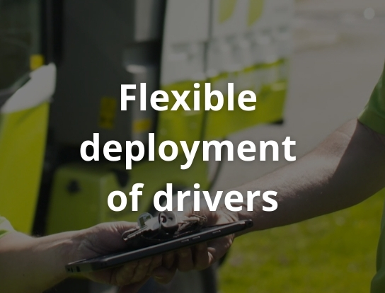 Flexible deployment of drivers